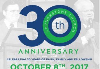 Triple 'F' celebrations for Cornerstone Church